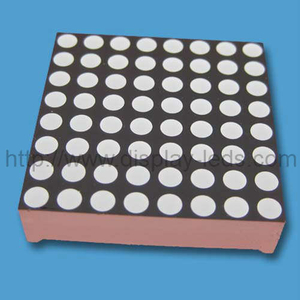 1,2 inch 8x8 LED-dotmatrix